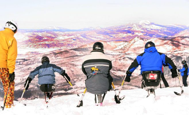 Ditch Your Chair to Sit-Ski the Slopes