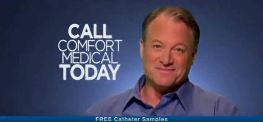 Call for free catheters from Comfrot Medical