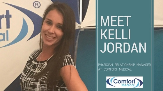 The Faces of Comfort Medical: Meet Kelli Jordan